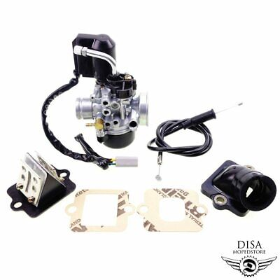 Vergaser 17,5mm Sport mit E-Choke Ansaugstutzen Membrane - Piaggio Gilera NEU * online kaufen