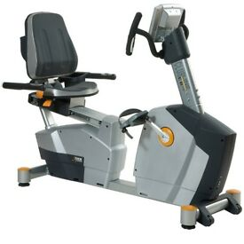DKN EB3100 Recumbent Exercise Bike - Grey