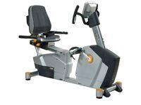 DKN EB3100 Recumbent Exercise Bike - Grey