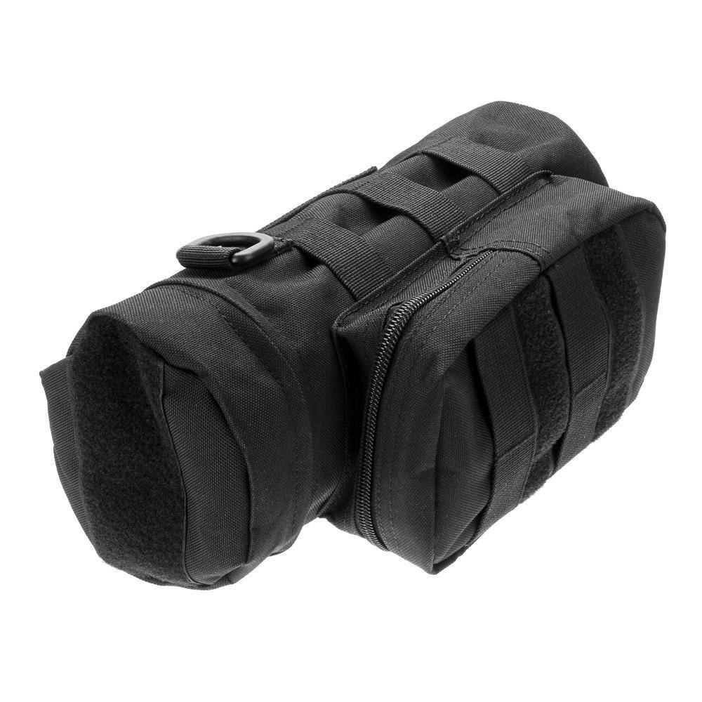 Military Tactical Molle Zipper Water Bottle Bag Hydration