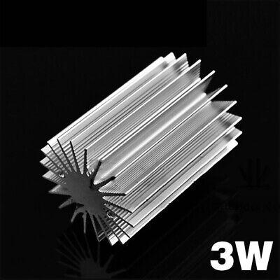 1pcs 3w Led Aluminum Heat Sink Round Electronic Radiator Od36mm H50mm