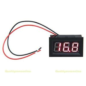 QZO-0-56inch-LCD-DC-3-2-30V-Red-LED-Panel-Meter-Digital-Voltmeter-with-Two-wire