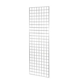 Chrome Gridwall Mesh Panels 152cm X 61cm