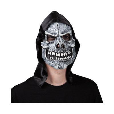 Maske Sensenmann Skelett Scary Geist Halloween Kostüm (Scary Skelett Masken)