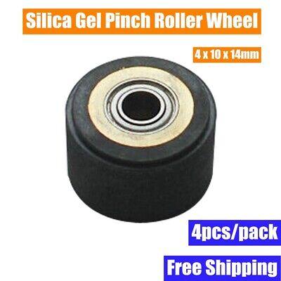 3pcspack Silica Gel Pinch Roller Wheel For Mimaki Vinyl Cutter 4x10x14mm