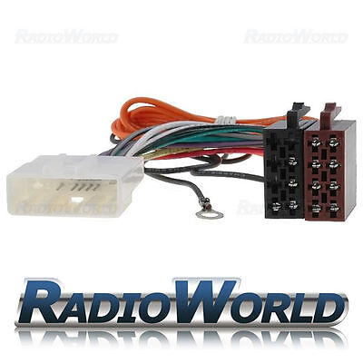 Radio Stereo ISO Wiring Harness Connector Adaptor Lead Loom FOR Nissan