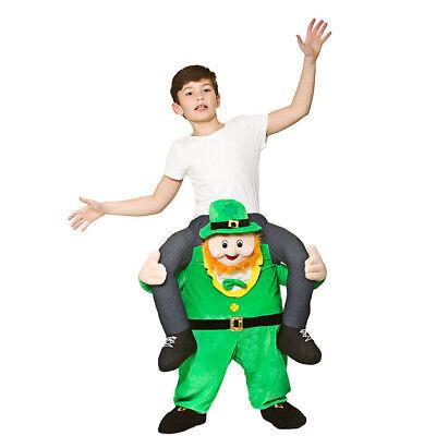 Trage Mich Kobold Kinder 7-10 Kostüm st Patricks-Tag Irisch Kostüm - St Patrick Tag Kostüm