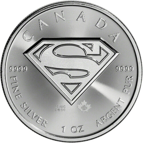 Купить 2016 Canada Silver Superman (1 oz) $5 BU