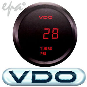 GENUINE-VDO-DIGITAL-TURBO-BOOST-GAUGE-TOYOTA-LANDCRUISER-60-70-75-80-100-SERIES