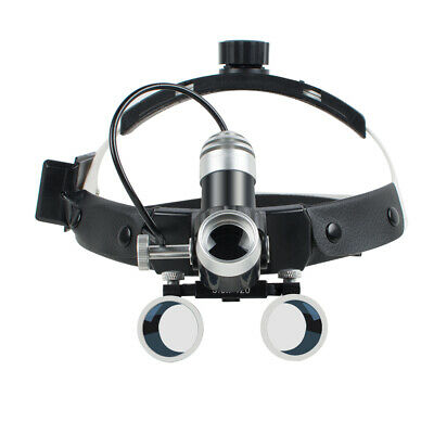 5w Led 3.5x 420mm Medical Surgical Dental Binocular Loupes Glasses Magnifier