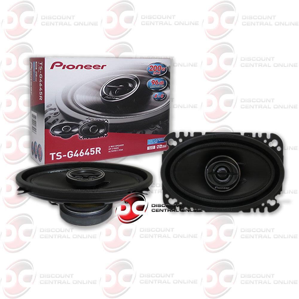 "BRAND NEW PIONEER 4x6-INCH 4"" x 6"" CAR AUDIO 2-WAY COAX SPEA"