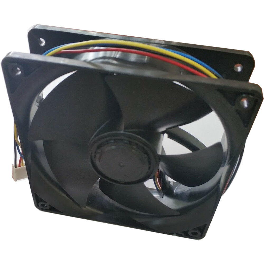 6500RPM Cooling Fan Replacement 4-pin Connector For Antminer Bitmain S7 S9 Black