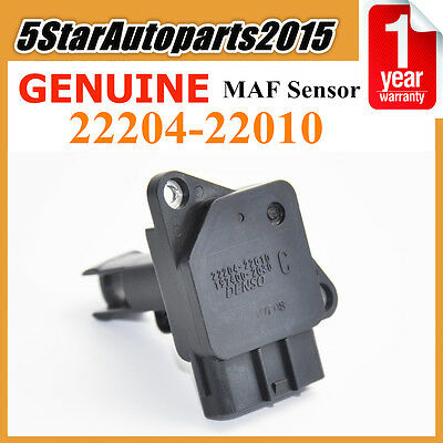 OEM 22204-22010 Denso Mass Air Flow Meter for Toyota Celica Yaris Lexus Scion xB