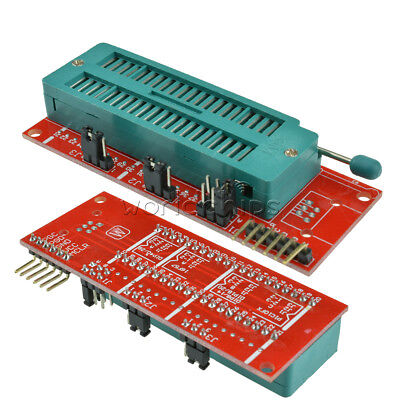 Pic Icd2 Pic Kit 2 3 Pickit Programming Adapter Programmer 40pin Test Seat Board