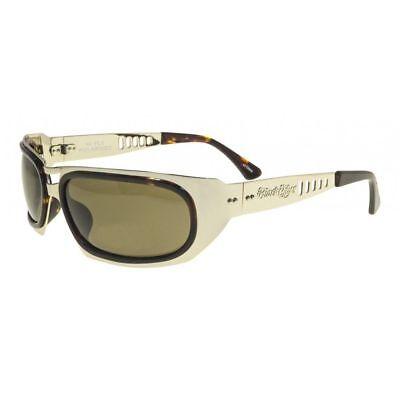 Brandneu Black Flys Sonnenbrille Hi Fliege Gold-Braun Braune Gläser Limited ()