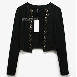 Womens Chic Ladies Beaded Cardigan FREE SHIP
