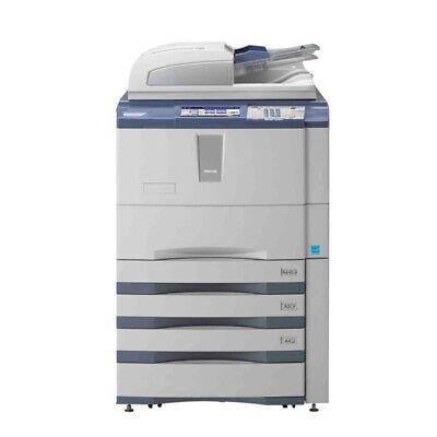 Toshiba E-studio 556 Mono Printer Scanner Copier 55 Ppm Laser Tabloidledger