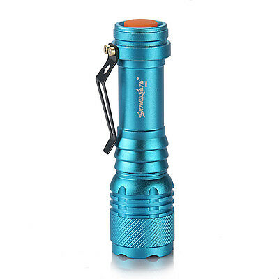 Фонарик 20000LM Zoomable Blue High-power 3mode