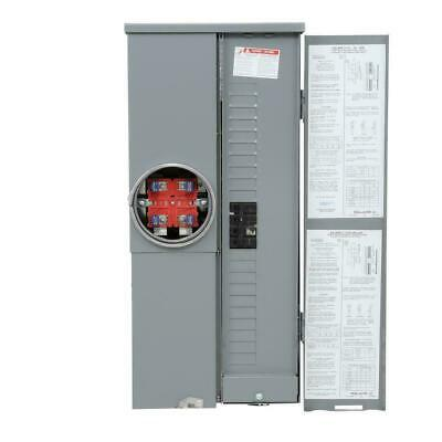 Square D Homeline 200 Amp 20-space 40-circuit Outdoor Main Breaker Panel Csed
