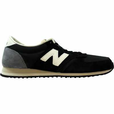 New Balance 420 Classic Black/Grey-Off White U420RKG Men's Size 12 Medium