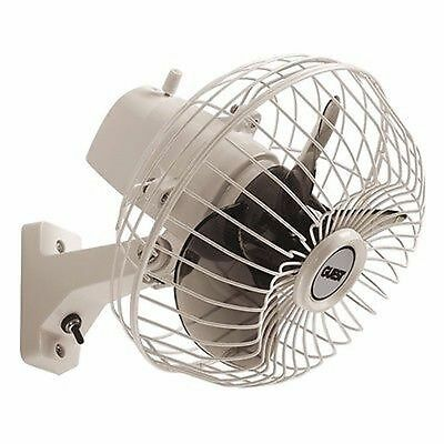 Guest 120 Adjustable Oscillating Marine Fan-Mount on wall/Dash 900 Boat MD ()
