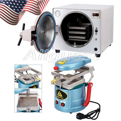 Dental 18l Autoclave Steam Sterilizer Vacuum Forming Molding Machine