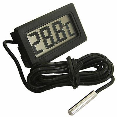 Mini Tester Car Digital Lcd Temperature Thermometer Meter Temp Sensor Probe Gl56