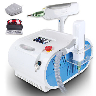 Q-switch Nd Yag Laser Tattoo Removal Eyebrow Removal Salon Beauty Spa Machine