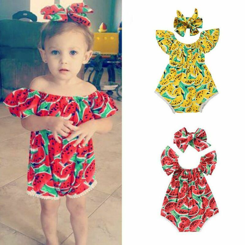 Baby Girls Red White Lace Rose Rosette Crystal Romper /& Headband Peony NB-3Y