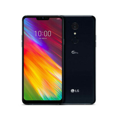 "New LG G7 Fit 32GB Black 4G LTE 6.1"" Octa Core Android 8.1 Sim Free UK"