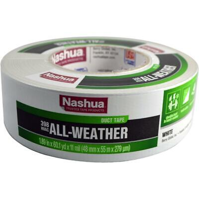 1.89 X 60 Yd 398 All-weather Hvac Duct Tape White All-weather Superior Adhesive