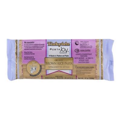 Low Fat Organic Brown Rice - Tinkyada-Organic Spaghetti Brown Rice Pasta (12-12 oz bags)