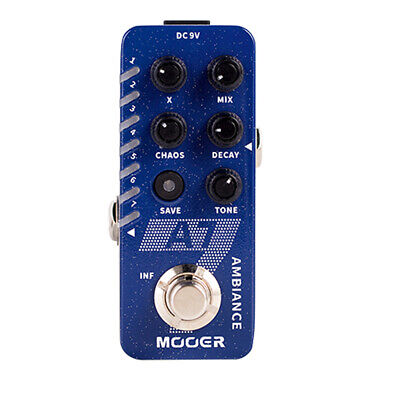 MOOER A7 AMBIENT REVERB Guitar Effect Pedal Psychedelic Reverb True Bypass