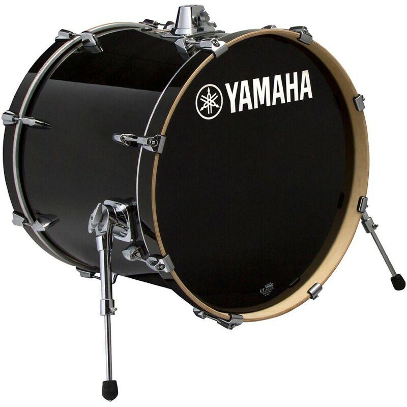 Yamaha Stage Custom Birch Bass Drum 18 x 15 in. Raven Black