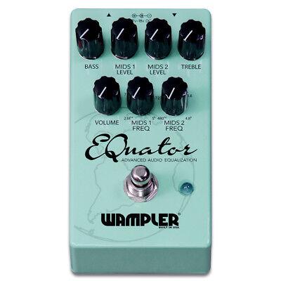 New Wampler EQuator Advanced Audio Equalizer Guitar Effects Pedal