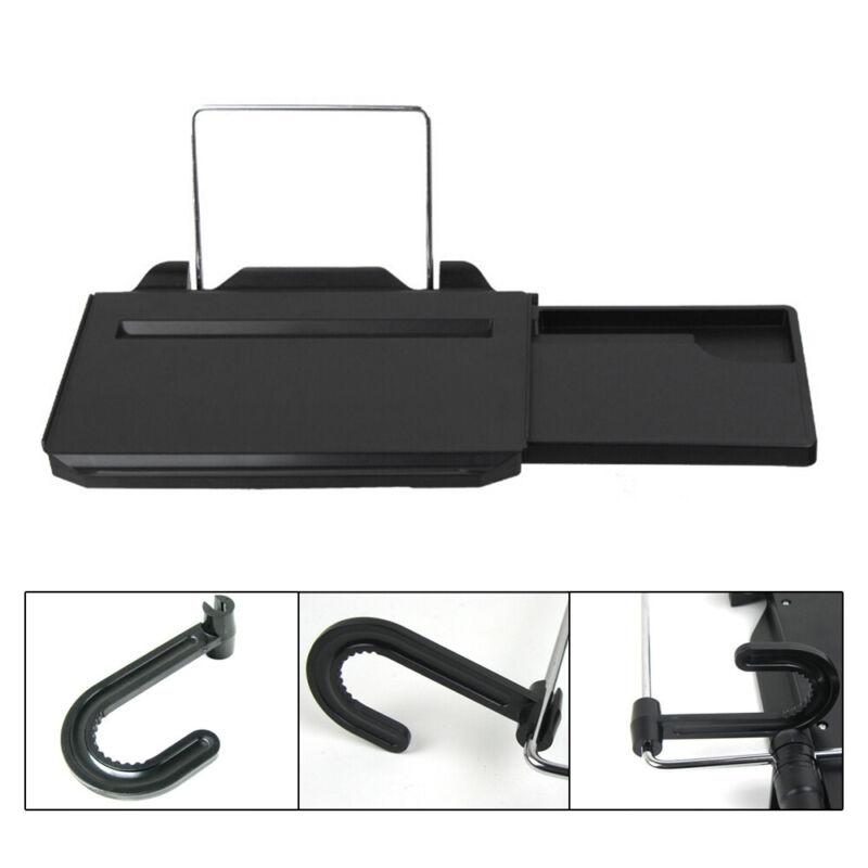 Portable Folding Car Steering Wheel Desk Laptop Mount Back Seat Food Tray Stand
