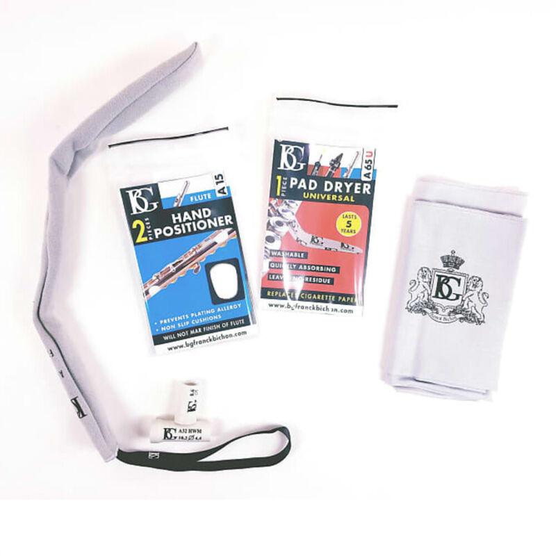 BG P6 Pro Pack - Flute (Care Cloth, Pad Dryer, Headjoint Swab, Hand Positioner)