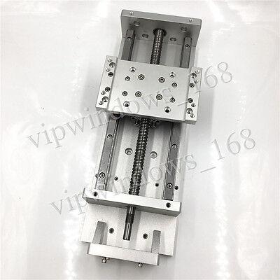 Cnc Milling Router Xyz Axis Cross Slide Table L200mm Linear Rail Module Actuator