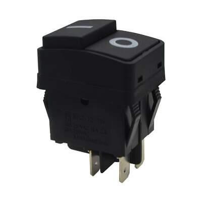 Waterproof Push Button Rocker Switch Dpst On-off Io 4 Pin