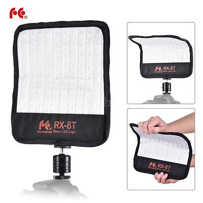 FalconEyes RX-8T Photography Studio Rollable LED Video Light Lamp Lighting Panel