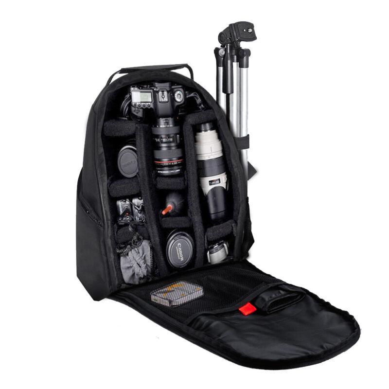 PRO Camera Backpack Bag for Canon Nikon Sony DSLR & Mirror Lens Large Lens