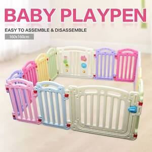 NEW Large Colourful Baby Nursing Playing Playpen 1.6m 1.2m Mordialloc Kingston Area Preview