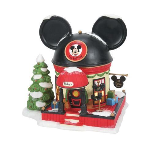 Dept 56 MICKEY MOUSE EAR HAT SHOP Disney Village NEW2021 #6007177