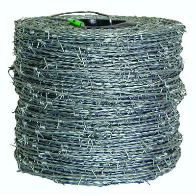 1320 Ft.15-12-gauge 4-point High Tensile Barbed Wire Lumber Composite Fencing