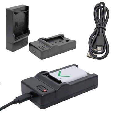 Lithium Battery Charger For Canon LP-E8 EOS 700D 550D 600D For AC Adapter