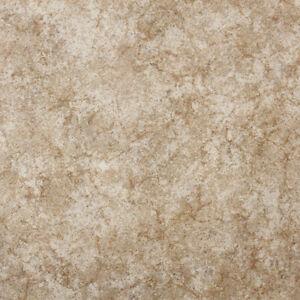 Beige marble non slip vinyl flooring lino kitchen - Non slip vinyl flooring for bathrooms ...