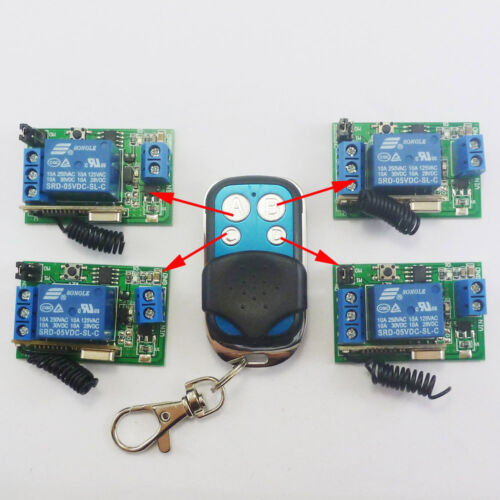 Smart Home Kit 433M Wireless remote control Intelligent Remote Delay Relay  lamp