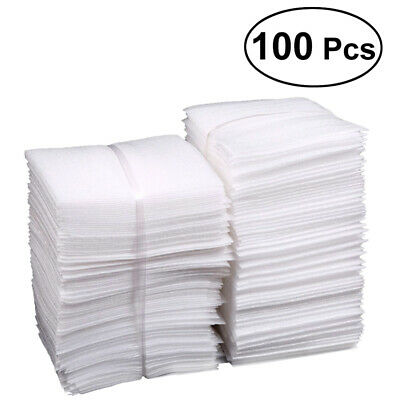 100pcs Cushion Foam Pouches Safely Wrap Cup Packing Bags For Shipping Moving