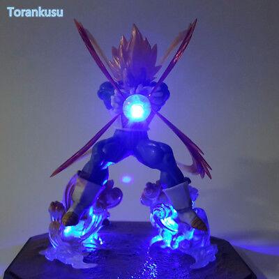 Dragon Ball Z Led Light Lamp Action Figure Vegeta Figurts Zero Esferas Del Drago