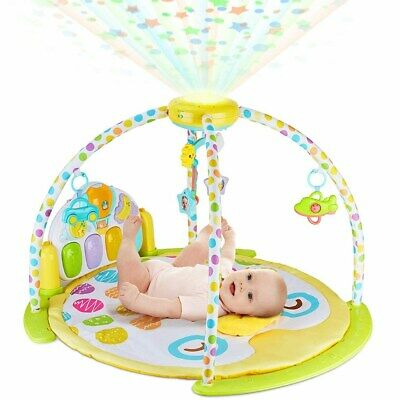 Baby Mat Gym Kick and Play Piano Activity Musical Gym Play Mat - BABYSEATER
